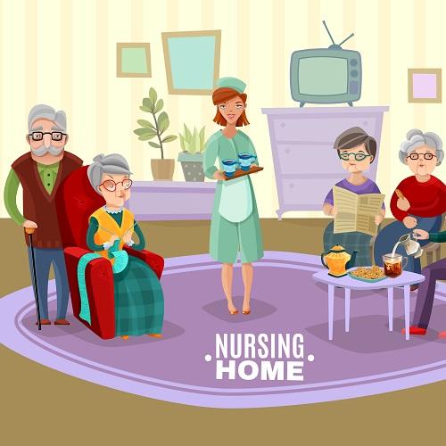 Hebergement en maison de retraite