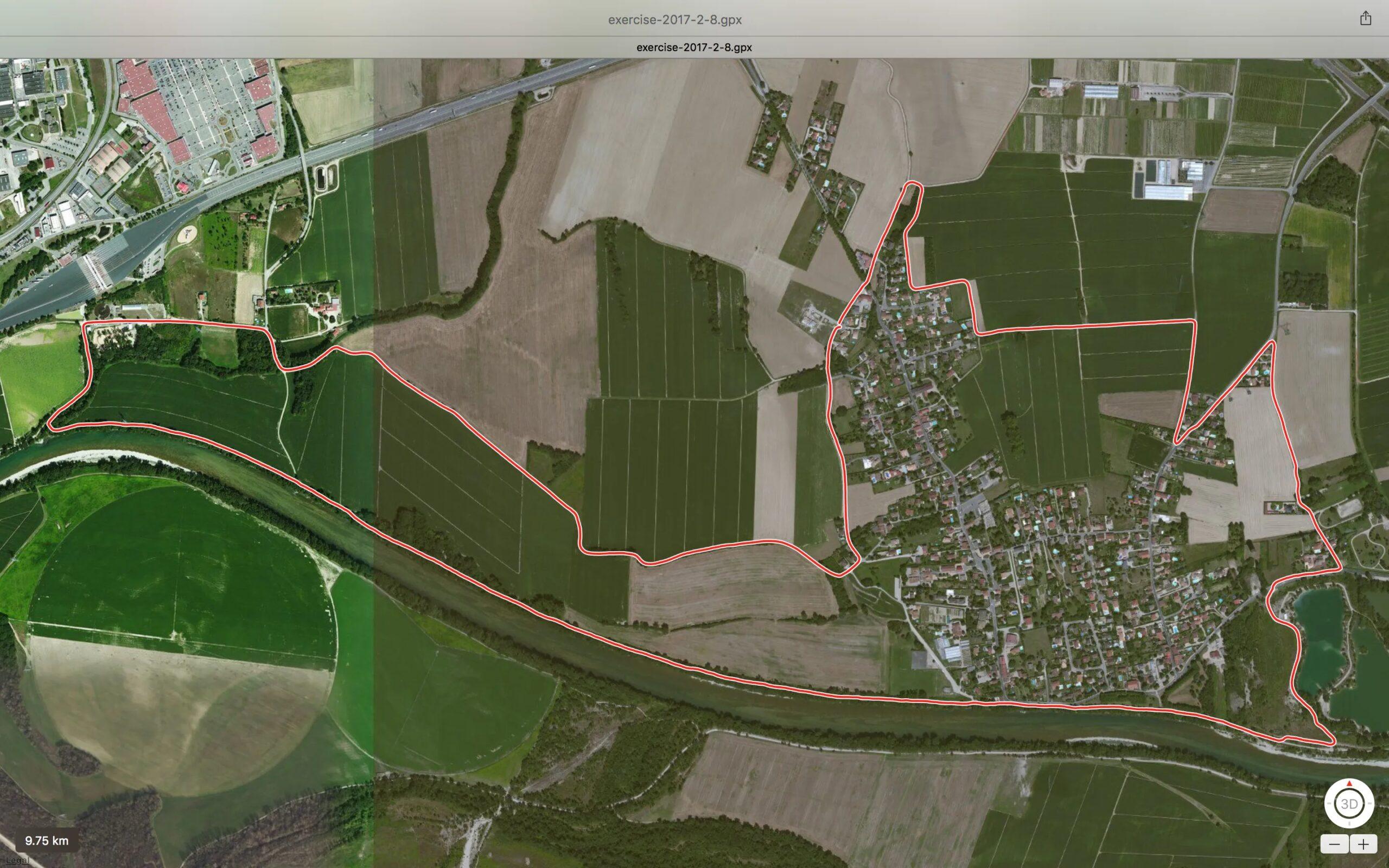 Balade 100% Thil 10 km La Passerelle