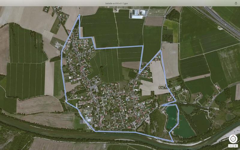 Balade 5 km 100% Thil