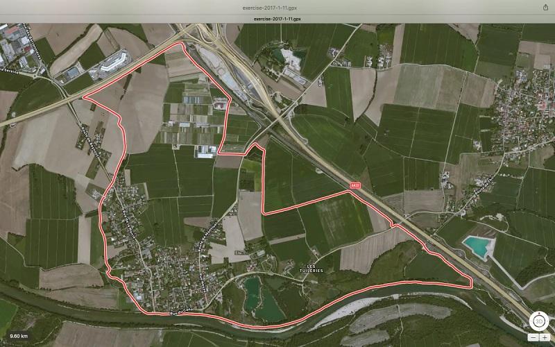 Balade Thil – Nievroz, 10 km