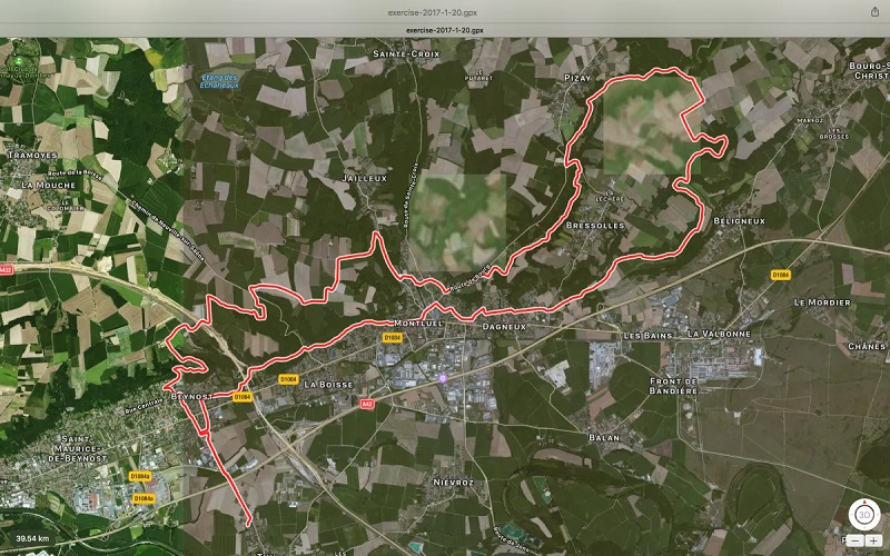 Balade spéciale VTT Thil Lac Neyton Thil 40 km
