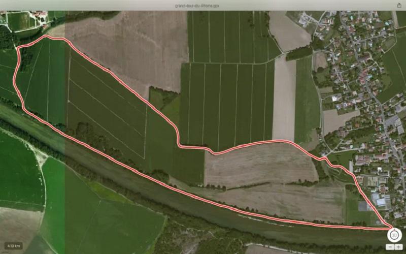 Balade 100% Thil – Grand tour du Rhône – 4km