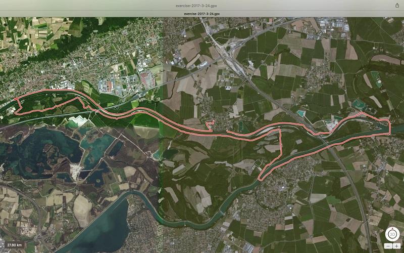 Balade le petit tour de Miribel – Vélo VTT – 27 km – Thil