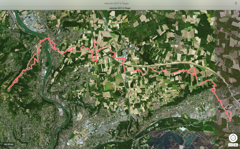 Balade VTT Thil – Mont Thou 62 Kms