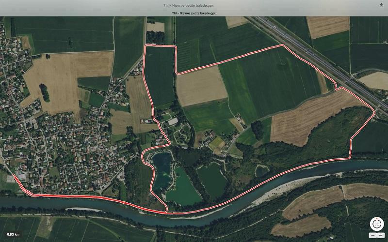 Balade Thil – Nievroz 7 km